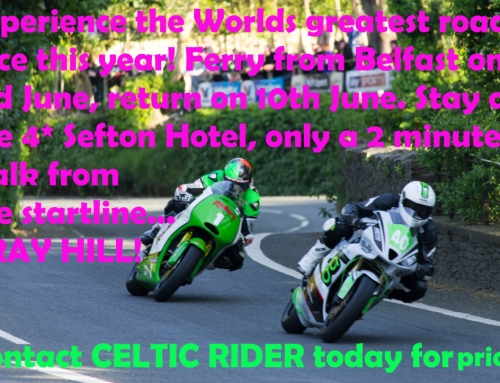 Experience the famous Isle of Man TT Races this year!