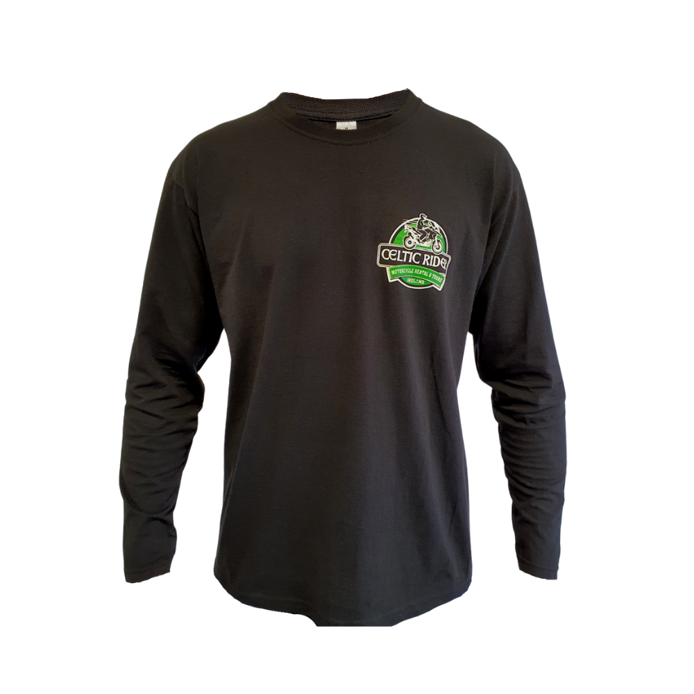 Long sleeve shamrock and BMW GS top