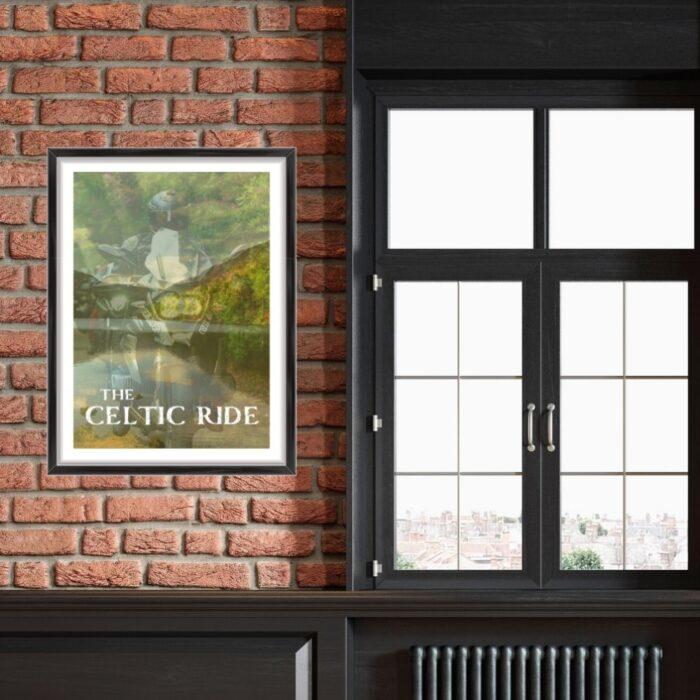 'The Celtic Ride' Iconic Irish Print #1